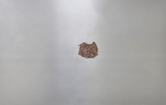 Caput Mortuum I (V). oil paint on aluminum, 91 x 58 cm, 2011