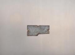 Caput Mortuum I (II). oil paint on aluminum, 61 x 46 cm, 2011