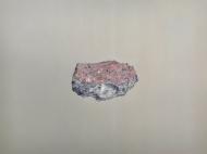 Caput Mortuum I (III). oil paint on aluminum, 61 x 46 cm, 2011