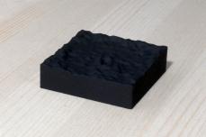 217-5-1, 2017, 3D printed matte black plastic, 6x6x2 cm
