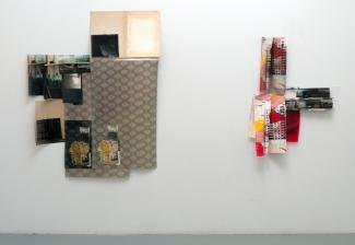 Obraz, Obrez, Ostatok (3 & 4), 2020, installation view.