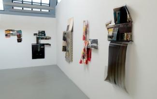 Obraz, Obrez, Ostatok, 2020, installation view.